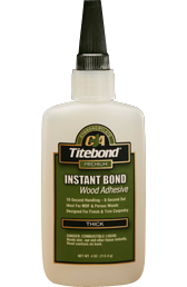 Instant Bond Wood Adhesive Thick